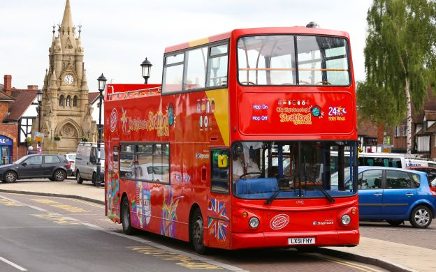 City Sightseeing Stratford-upon-Avon: Hop-On Hop-Off Bus Tour