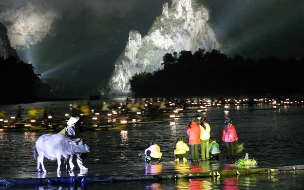 Impression SanJie Liu Show with Private Hotel Transfers from Guilin