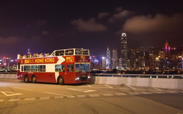 Big Bus Hong Kong: Hop-On, Hop-Off Deluxe Ticket