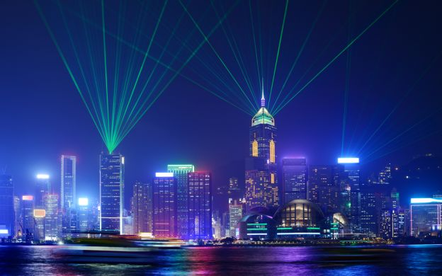 Symphony of Lights Harbour Cruise in Hong Kong