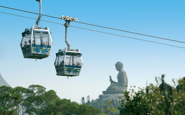 Ngong Ping 360 Private Cable Car Ride with Roundtrip transfers and Optional Crystal Cabin