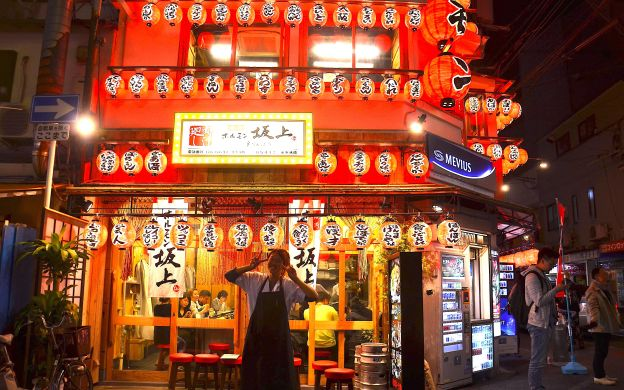 Down the Famous Street – Nightlife Osaka Food Tour