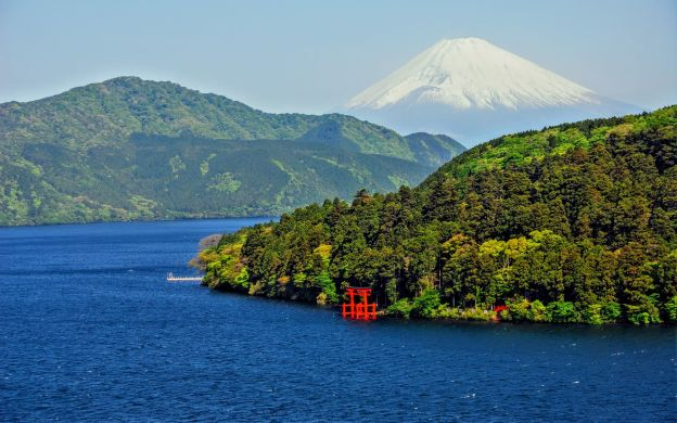 Mountains, Volcanoes and Lakes: Mount Fuji and Hakone Tour from Tokyo
