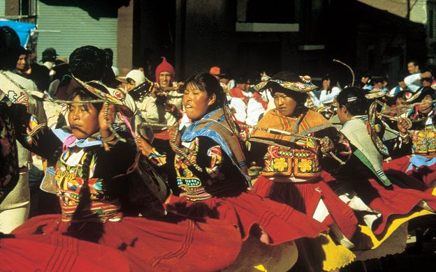 Andean Dinner and Dance Tour in La Paz