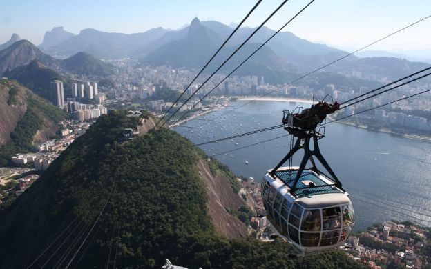 Full Day Rio Sightseeing including Christ Statue and Sugar Loaf Mountain Cable Car