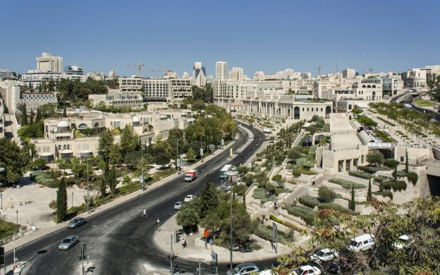 Sightseeing Tour of Old and New Jerusalem - from Tel Aviv