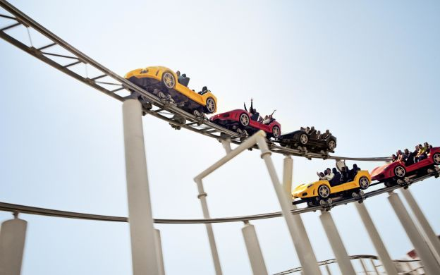 Ferrari World General Admission Ticket: Unlimited Access to Rides with optional transfer from Dubai
