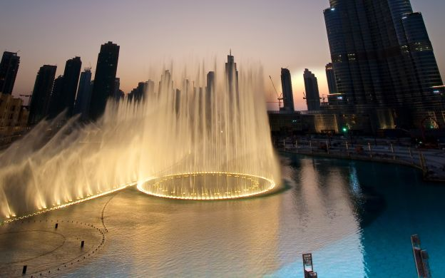 Dubai Fountain Show and Lake Ride Ticket