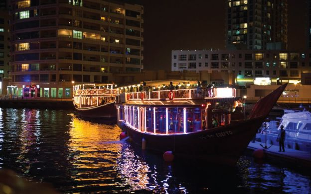 City Cruises: Round Trip Dubai Marina Ferry with Optional Burj Khalifa At The Top Sky Ticket and Private Transfers Upgrade