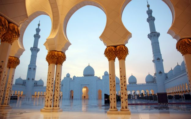 Abu Dhabi City Tour & Louvre Museum Admission with Dubai Hotel Transfers