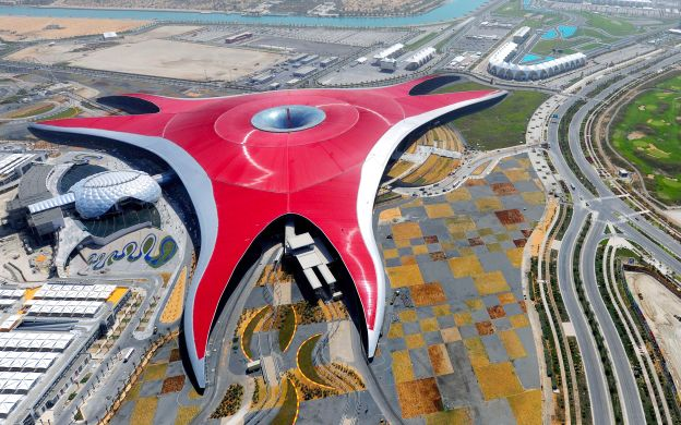 Dubai to Yas Island by Seaplane Including Ferrari World Ticket