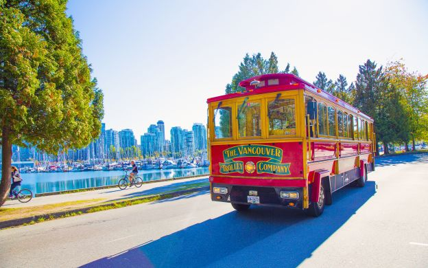 Vancouver Hop-On, Hop-Off Tour by Bus or Trolley – 48-hour for the price of 24 hours!