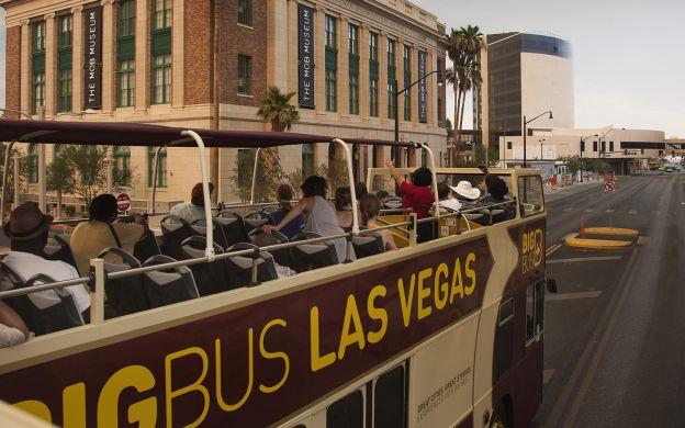 big bus las vegas hop-on, hop-off tour