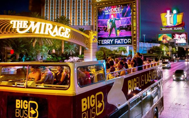 Big Bus Tours - Las Vegas Panoramic Night Tour