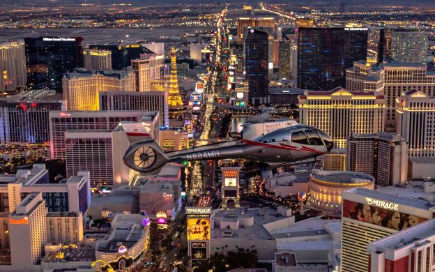 Savory Bites And Neon Lights:  Las Vegas Foodie Tour & Strip Helicopter Flight