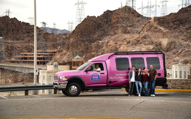 Hoover Dam Pink Jeep Tour – From Las Vegas