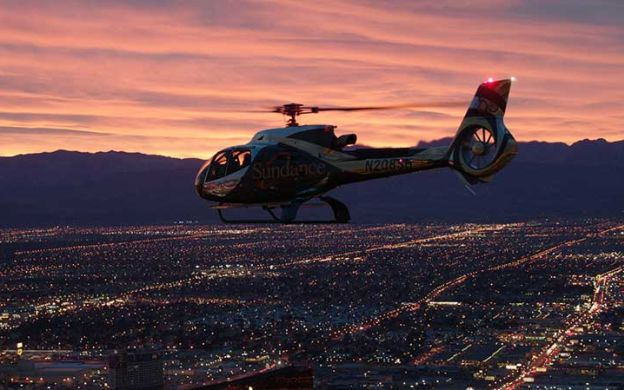 Las Vegas Pink Jeep Tour with Helicopter Flight