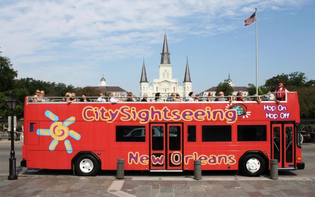 City Sightseeing New Orleans: Hop-On, Hop-Off Tour