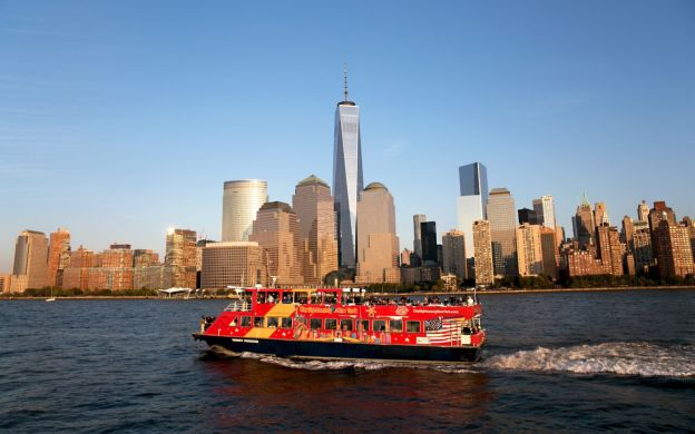 1 Day New York Hop-On, Hop-Off Sightseeing Ferry Pass