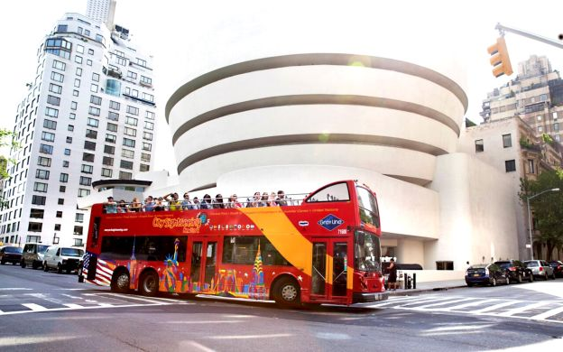 City Sightseeing New York City: Hop-On, Hop-Off with Ferry, Empire State  Building & Woodbury Common
