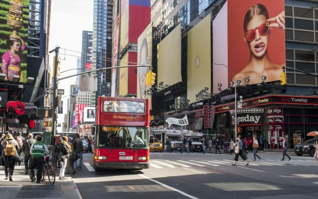 City Sightseeing New York: 3-Day Uptown and Downtown Hop-On, Hop-Off Ticket with Attraction Tickets