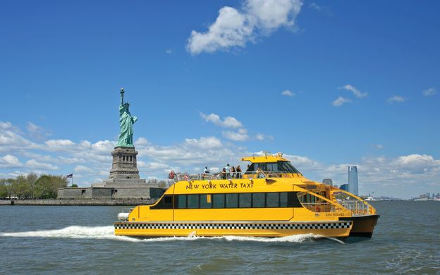 New York Water Taxi: Hop-On, Hop-Off Cruise