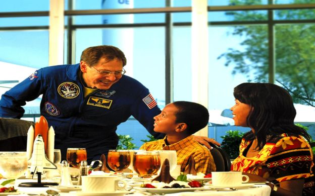 Dine with an Astronaut At The Kennedy Space Center - Tour from Orlando