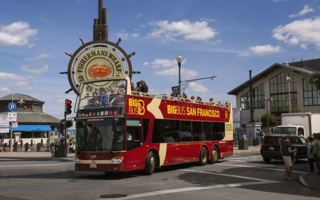 Big Bus San Francisco: Hop-On, Hop-Off Tour | 10% OFF