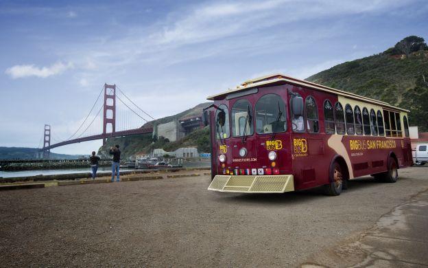 big bus san francisco: hop-on, hop-off tour