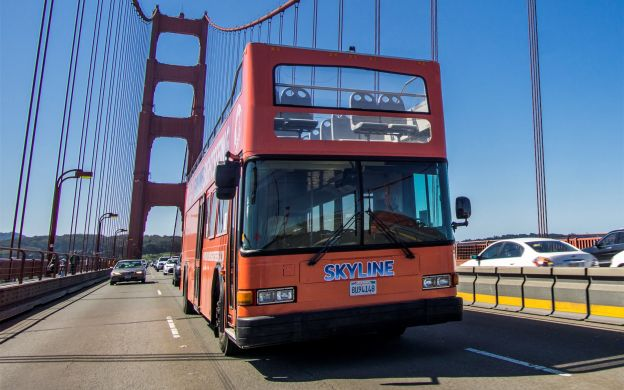 Skyline Sightseeing San Francisco: Hop-On, Hop-Off Bus + de Young Museum & SFMOMA Tickets