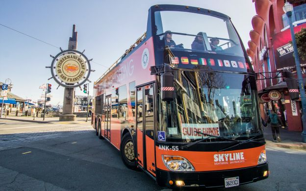 Skyline Sightseeing San Francisco: Hop-on, Hop-off Bus Tour and Bay Cruise Combo