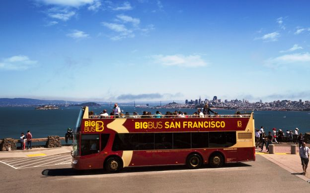 Best of San Francisco : Big Bus San Francisco Hop-On, Hop-Off and Alcatraz Ticket