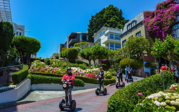 Segway Advanced Hills and Crooked Street Tour, San Francisco