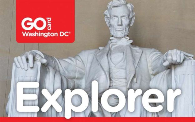 Go Washington Card - Explorer: Hop-On, Hop-Off Bus, Madame Tussauds, Top Museums, Bike & Walking Tours and More!