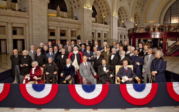 The Presidents Gallery by Madame Tussauds