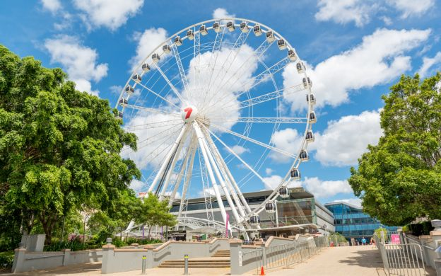 Brisbane Sightseeing, River Cruise and Mt Coot-tha