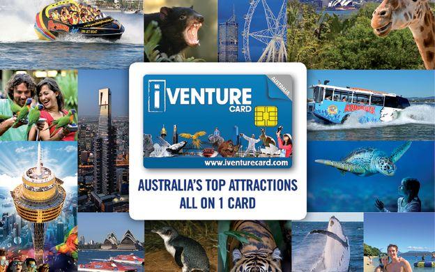 iVenture Australia Multi City Flexi Attractions Pass - Sydney, Melbourne, Tasmania, Gold Coast: Madame Tussauds Sydney, Melbourne Hop-On, Hop-Off Bus Tour & More!