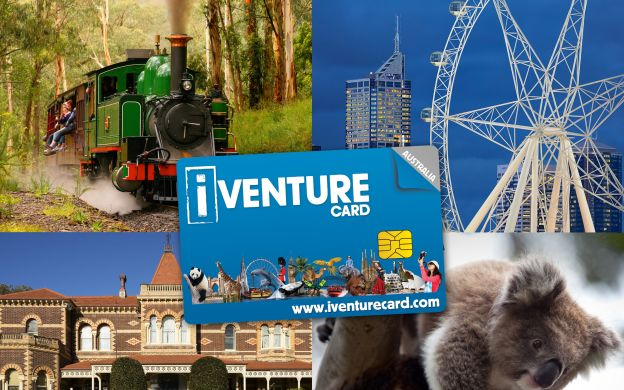 iVenture Melbourne Unlimited Attractions Pass: Hop-on, Hop-off Bus, Eureka Skydeck, IceBar, Ghost Tour, Cruises, Cook's Cottage & More