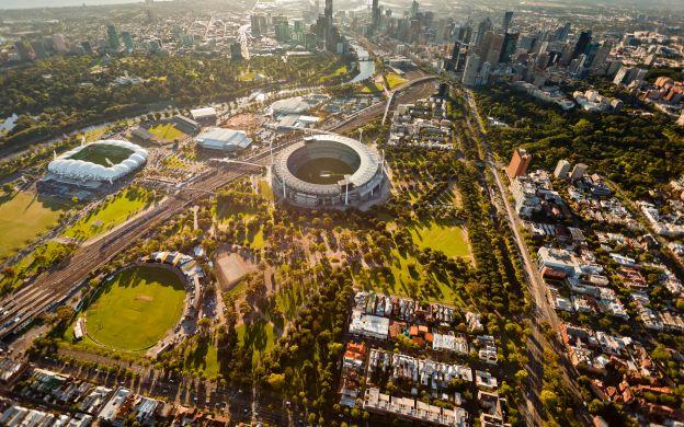 Morning City Tour with Melbourne Cricket Ground (MCG) Tour