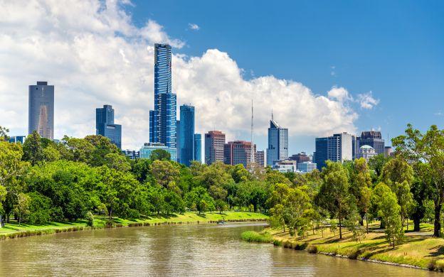 Yarra River Gardens cruise, Melbourne