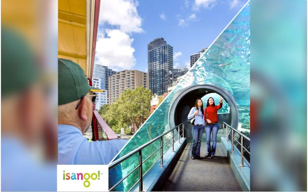 City Sightseeing Melbourne Hop-On, Hop-Off Bus with SEA LIFE Melbourne