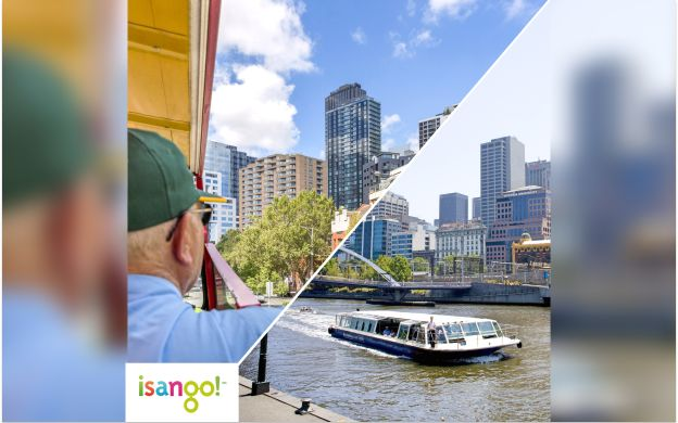 Melbourne by Land and Water: City Sightseeing Hop-On, Hop-Off Bus Tour with River Cruise