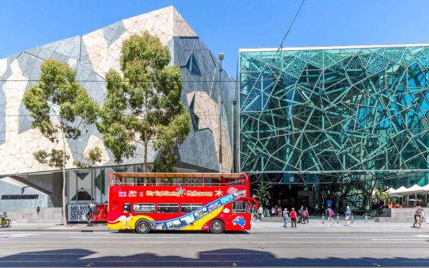 City Sightseeing Melbourne: Hop-On, Hop-Off Bus Ticket