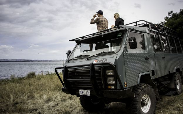 Walk into the Wilderness: French and Phillip Islands' Full Day Tour with Cruises, 4WD Ride, Penguin Parade, Nobbies and Farmgate Lunch