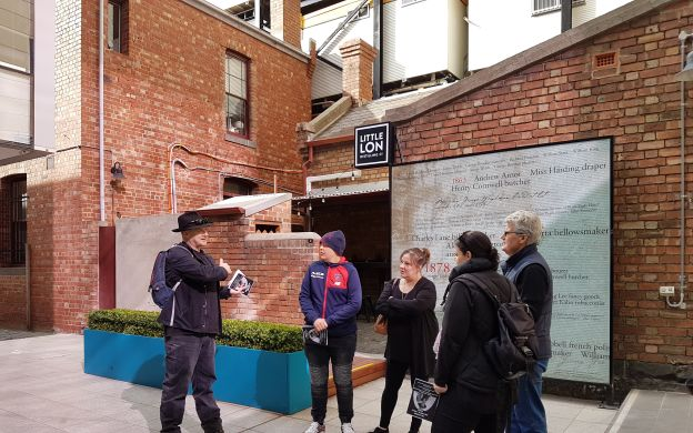 Women, Lolly Shops and the Underworld: Melbourne Walking tour