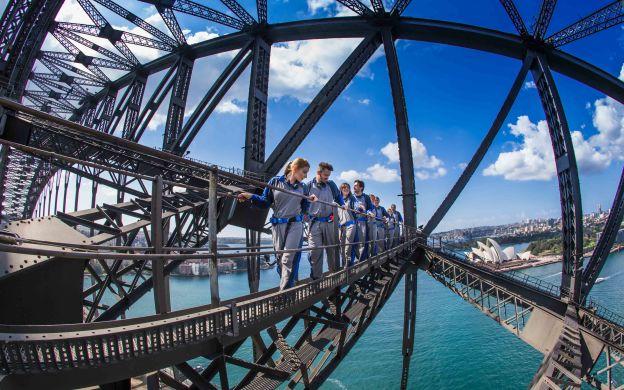 Sydney Harbour Bridge Halfway Climb