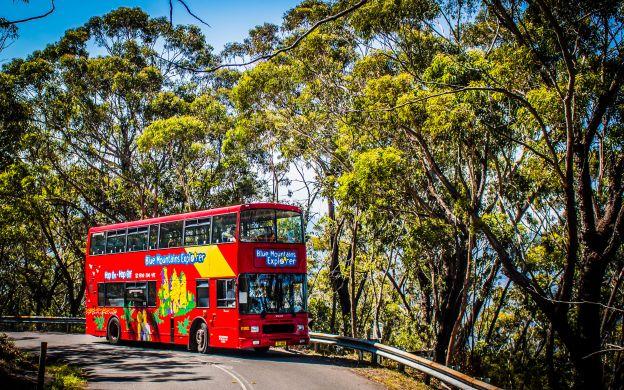 Blue Mountains Explorer Bus: Hop-On, Hop-Off Tour