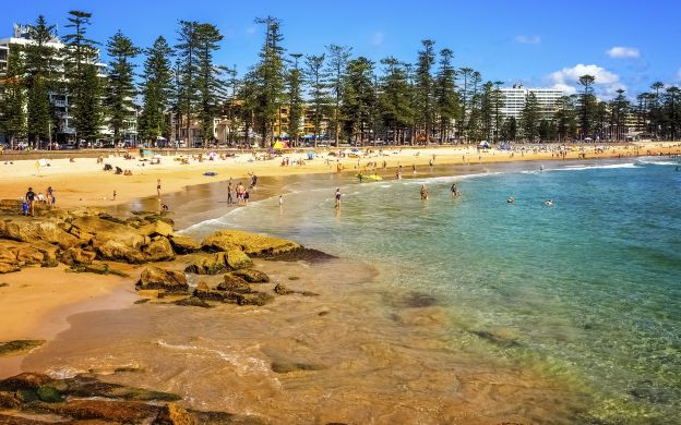 Manly beach, Sydney, Australie