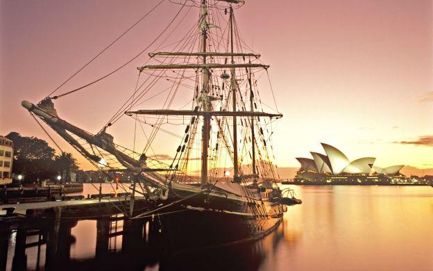 Sydney Harbour Tall Ship Twilight Dinner Cruise