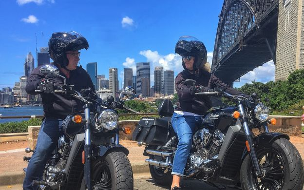 Ride On and Ride High: Sydney and the Harbour Bridge Motorcycle Tour